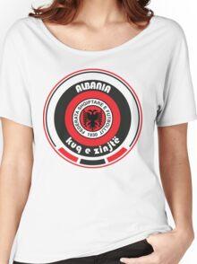 Euro 2016 Football - Team Albania Women's Relaxed Fit T-Shirt
