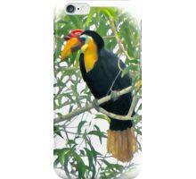 WRINKLED HORNBILL PORTRAIT iPhone Case/Skin