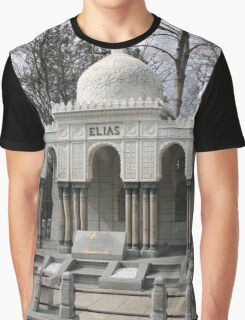 Elias-Mausoleum At Zentralfriedhof, Vienna Austria Graphic T-Shirt