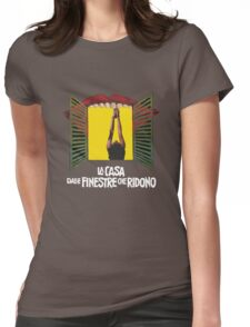 Laughing Sebastiane Womens Fitted T-Shirt