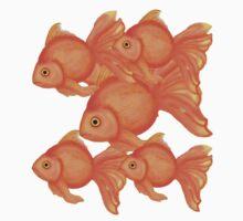 Goldfish Dreams Kids Tee