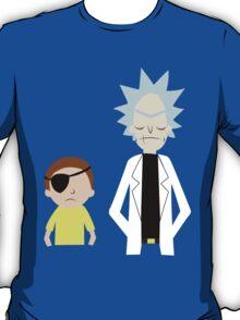 Evil Rick and Morty [PLAIN] T-Shirt