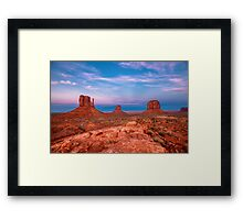 Westward Dreams Framed Print