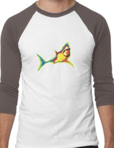 Heat Vision - Shark Men's Baseball ¾ T-Shirt