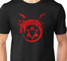 °MANGA° Ouroboros Full Metal Alchemist Rust Logo Unisex T-Shirt