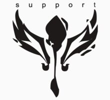 League of Legends support design by kkitkat