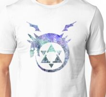 °MANGA° Ouroboros Full Metal Alchemist Space Logo Unisex T-Shirt