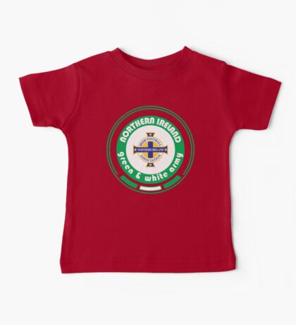 Euro 2016 Football - Team Northern Ireland Baby Tee