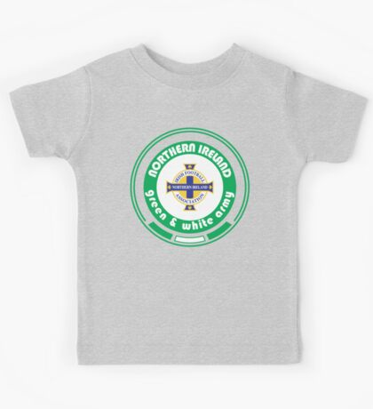 Euro 2016 Football - Team Northern Ireland Kids Tee