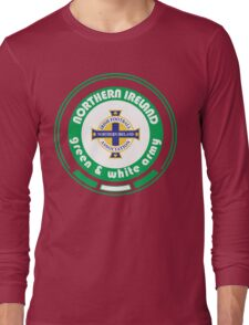 Euro 2016 Football - Team Northern Ireland Long Sleeve T-Shirt