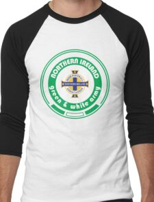 Euro 2016 Football - Team Northern Ireland Men's Baseball ¾ T-Shirt