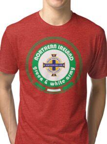 Euro 2016 Football - Team Northern Ireland Tri-blend T-Shirt