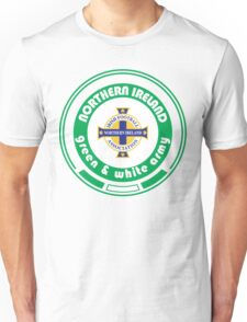 Euro 2016 Football - Team Northern Ireland Unisex T-Shirt