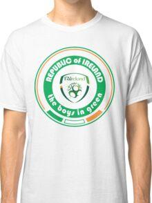 Euro 2016 Football - Team Republic of Ireland Classic T-Shirt