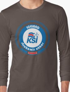 Euro 2016 Football - Team Iceland Long Sleeve T-Shirt
