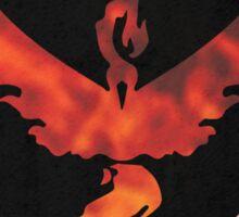 Pokemon Go - Team Valor (flames circle 2) Sticker