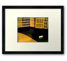 Cell base Framed Print