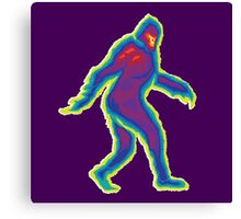 Heat Vision - Bigfoot Canvas Print