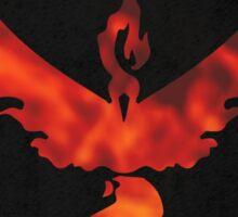 Pokemon Go - Team Valor (flames circle 1) Sticker