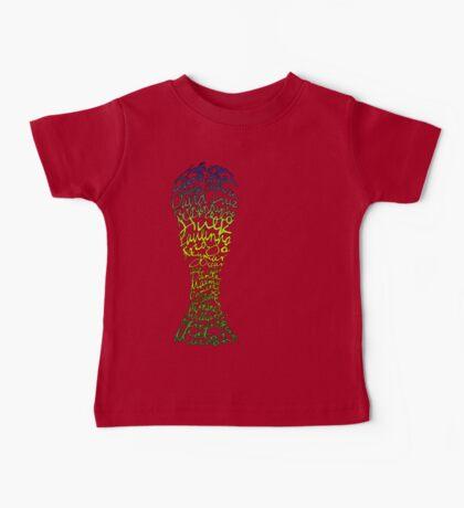 Brazilian World Cup Squad 2014 Baby Tee