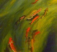 Koi Dreaming by Redviolin