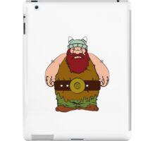 Wikinger - viking olaf iPad Case/Skin