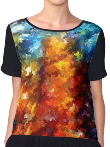 modern composition 01 by rafi talby Chiffon Top