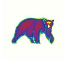 Heat Vision - Polar Bear Art Print