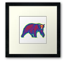 Heat Vision - Polar Bear Framed Print