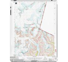 USGS TOPO Map Alaska AK Petersburg D-1 358362 2000 63360 iPad Case/Skin