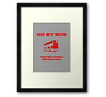 Travelling In Chatteris Framed Print