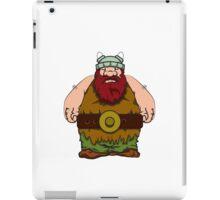 big wik - wikinger - viking olaf iPad Case/Skin