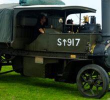 WW1 Foden army steam lorry Sticker