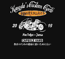 AKIRA SHOTARO KANEDA BIKE CUSTOM MOTORCYCLE NEO TOKYO CAPSULE GANG ANIME MANGA Unisex T-Shirt