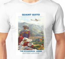 """EASTERN AIRLINES"" Fly to the Ecuadorian Andes Print Unisex T-Shirt"