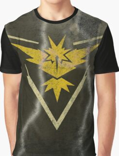 Pokemon Go - Team Instinct (lightning square) Graphic T-Shirt