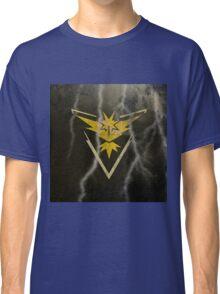 Pokemon Go - Team Instinct (lightning square) Classic T-Shirt