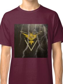 Pokemon Go - Team Instinct (lightning square) Classic T-Shirt