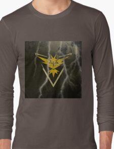 Pokemon Go - Team Instinct (lightning square) Long Sleeve T-Shirt