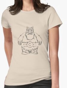 Wikinger, viking, olaf, Womens Fitted T-Shirt