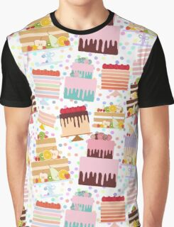 Sweet Cakes Graphic T-Shirt