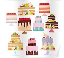 Sweet Cakes Poster