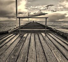 Lonely fisherman by mellosphoto