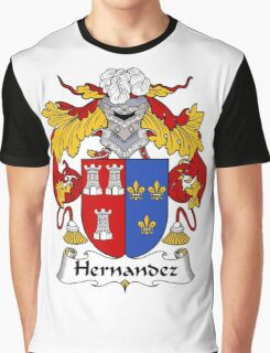 Hernandez Coat of Arms/Family Crest Graphic T-Shirt