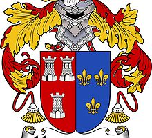 Hernandez Coat of Arms/Family Crest by William Martin