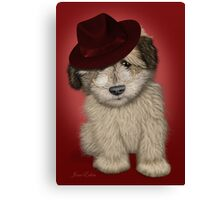 Fun pup Canvas Print