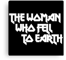 THE WOMAN WHO FELL TO EARTH Canvas Print