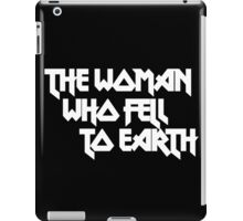 THE WOMAN WHO FELL TO EARTH iPad Case/Skin