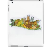 Find Your Pride! - Feline Family iPad Case/Skin