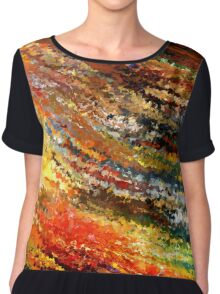 modern composition 07 by rafi talby Chiffon Top